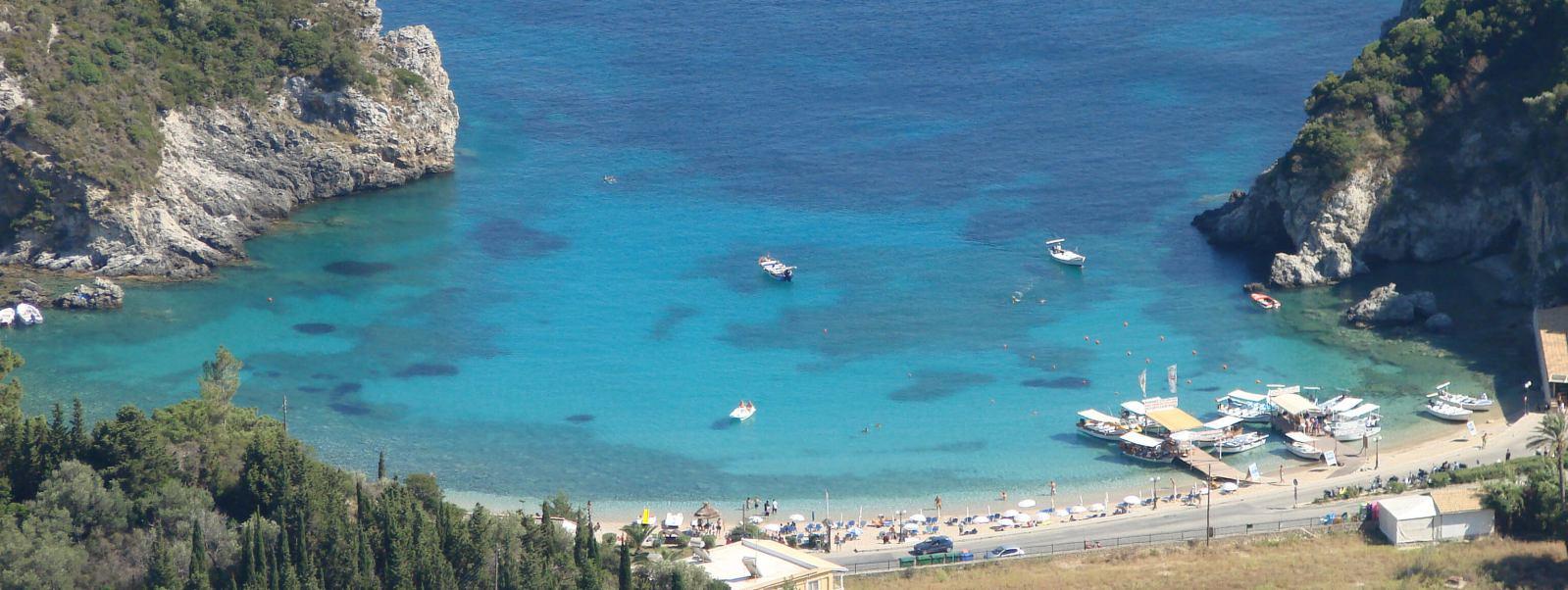agios spyridon beach paleokastritsa